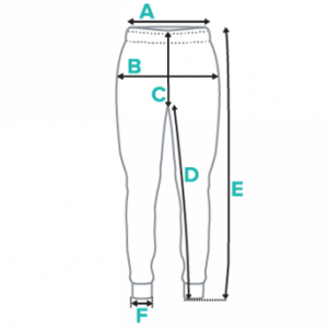 Women's joggers specifications