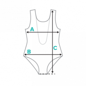 One-piece swimsuit specifications