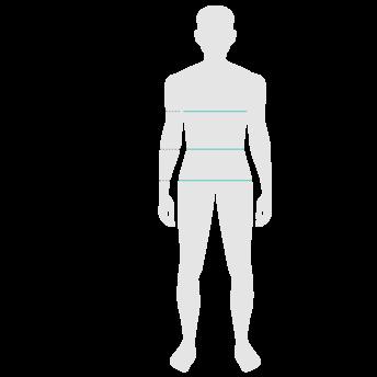 Male body measurements