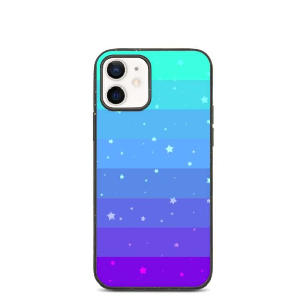 Green and purple environmentally sustainable phone case