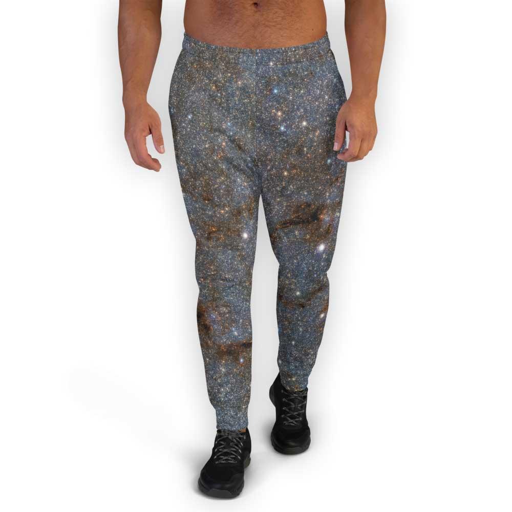Grey galaxy joggers